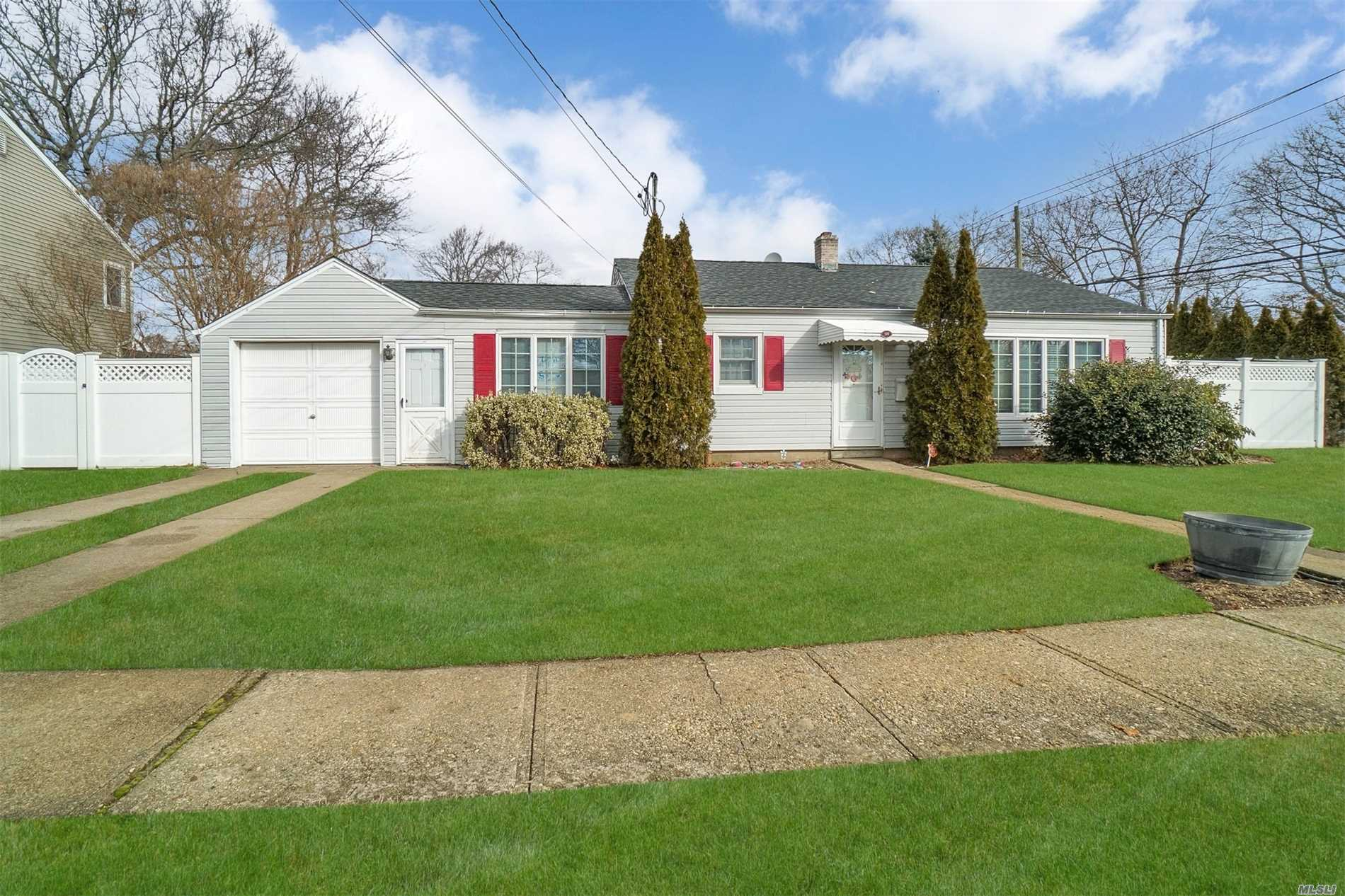 Beautifully Updated Ranch In The Heart Of Massapequa Park. Move In Ready Home With Many Updates: Roof - 6 Years Old, Floors - 6 Years Old, Boiler - 5 Years Old, Cac - 5 Years Old, Windows, Sliders And Electric Done In 2007. Close To Railroad And Village. A Must See, Will Not Last Long...