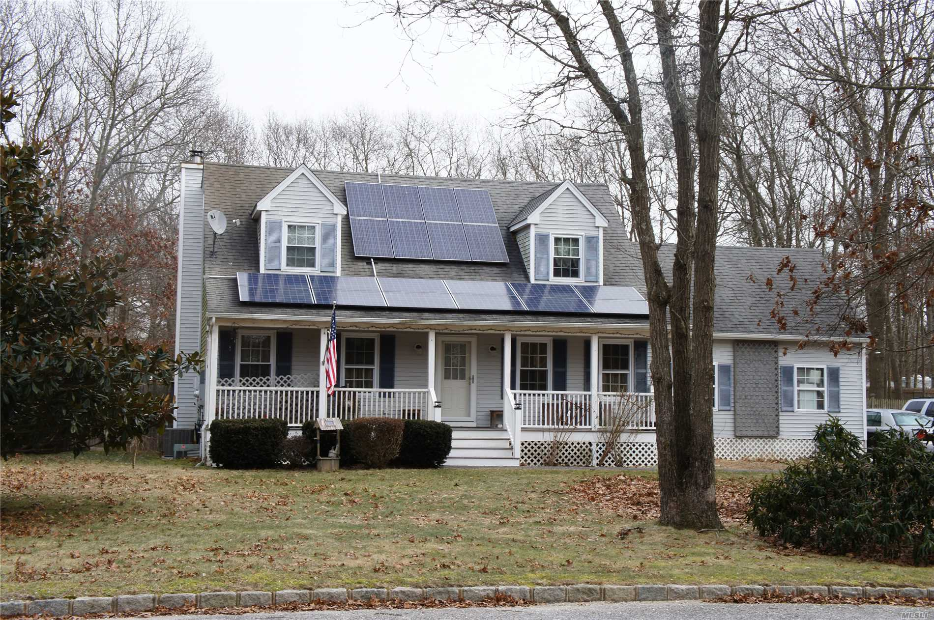 3 Bedroom Cape In The Desirable Center Moriches Area. 20X20 Brazilian Redwood Deck W/ Cedar Railings. Front Porch W/ Pvc Railing And Trex Flooring. Hurricane Proof Widows And Screens W/ Lifetime Warranty. Solar Panels W/ Warranty. Large Property In A Lovely Neighborhood. A Must See..