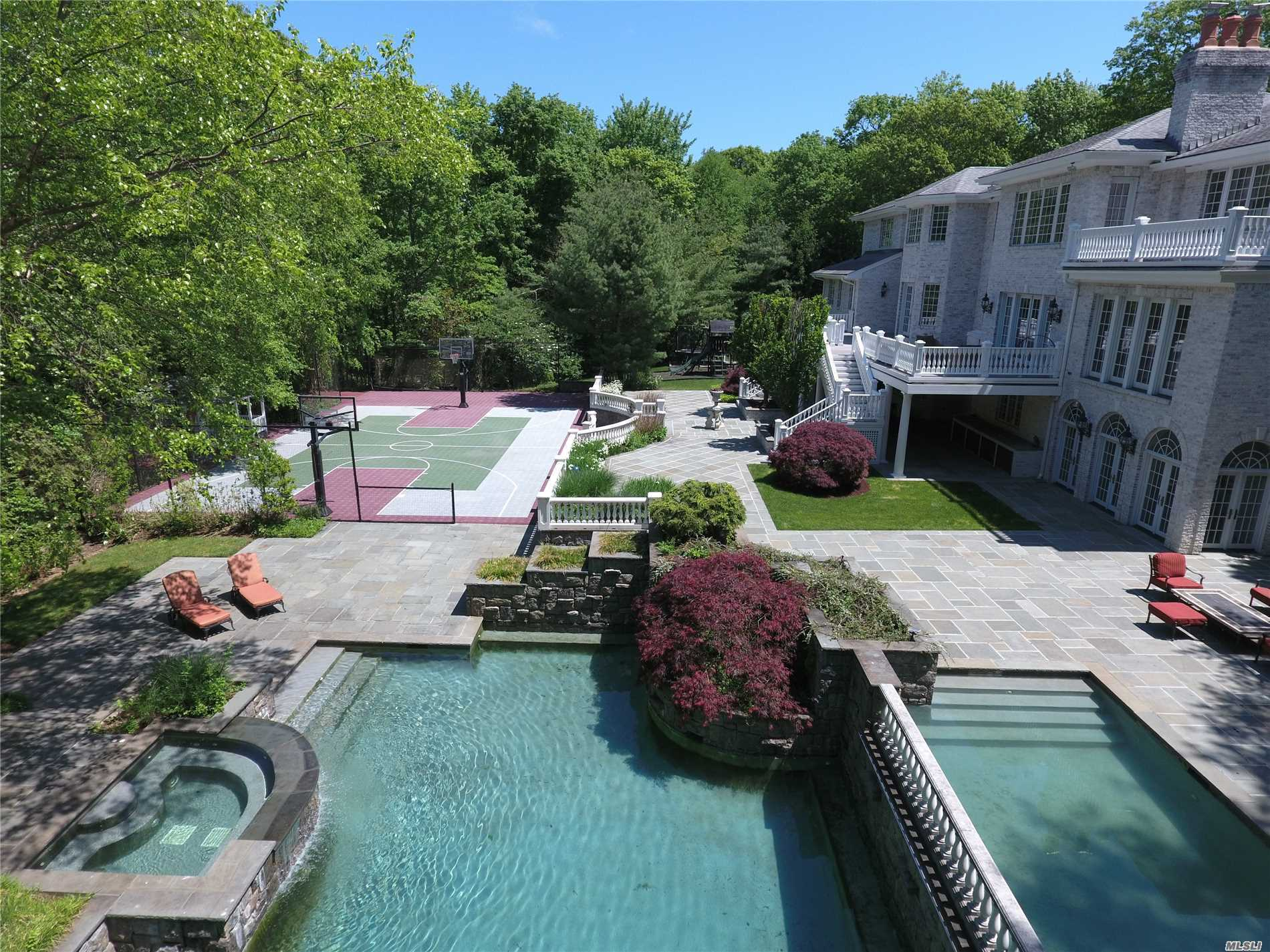 Inc Village Of Oyster Bay Cove, Ny. Premier Tall Oaks Community. Stunning One Of A Kind Grand Estate Offering Resort Style Living, 6 Bedrooms, 7.5 Bathrooms, Many Fabulous Features And Details Incl. Chef's Kitchen, Luxe Master, Fabulous Media Room, Gym, Wine Cellar And Cabana. Set On 4 Spectacular Private Acres With 2 In-Ground Pools, Sport Court, Patio & Gardens. Csh Sd#2.