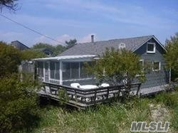 This Is A Real Cute House That Is Now Oceanfront. The Possibilities Are Endless. You Could Raise The House Or You Could Put A Second Story Or You Could Leave It As Is And Put A Rooftop Deck......Come See How Cute It Is On The First Ferry