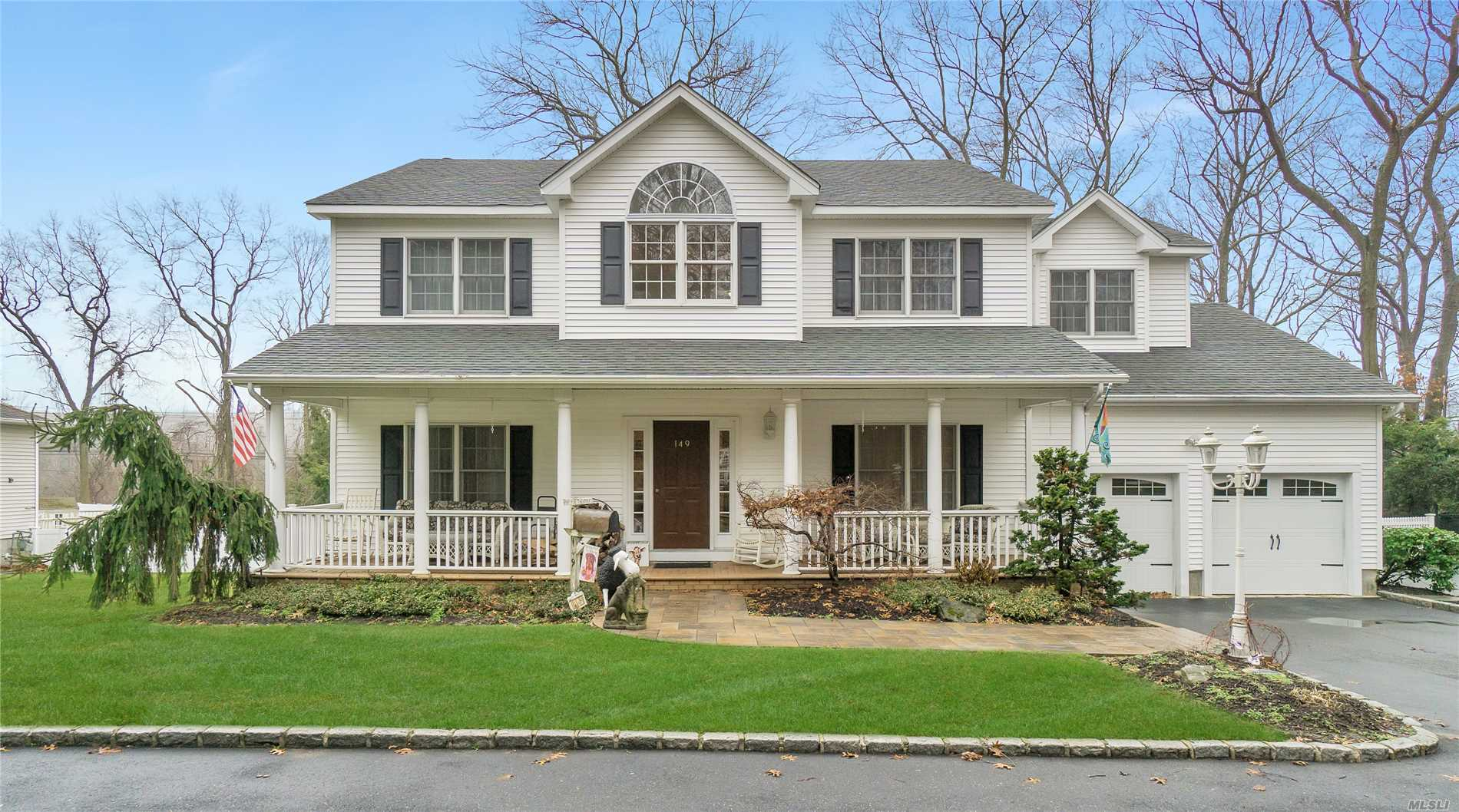 Custom Built Quality Thruout/Original Owners/Lower Level Was Approved Child Care Facility/Private Street/Circular Drive Plus Regular Driveway/Hardwood Floors/Designer Granite Kitchen/Fireplace Heat-O-Lator/Potential Easy Generator/Central Vac And More!!