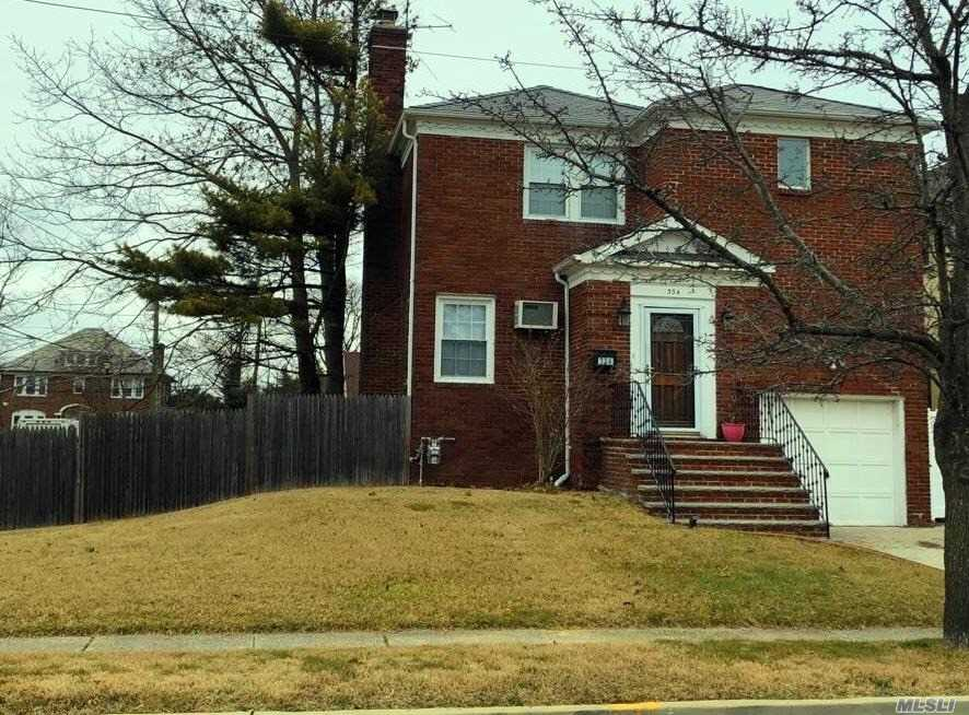 Brick Colonial Rental In The Heart Of Cedarhurst.Large Living Room, Dining Room And Eat In Kitchen, 1/2 Bath, Deck And Access To 1 Car Garage. Master Suite With Beautiful New Bath And 2 Large Bedroom And New Bath. Finished Basement Has Play Area Guest Room And Full Bath.