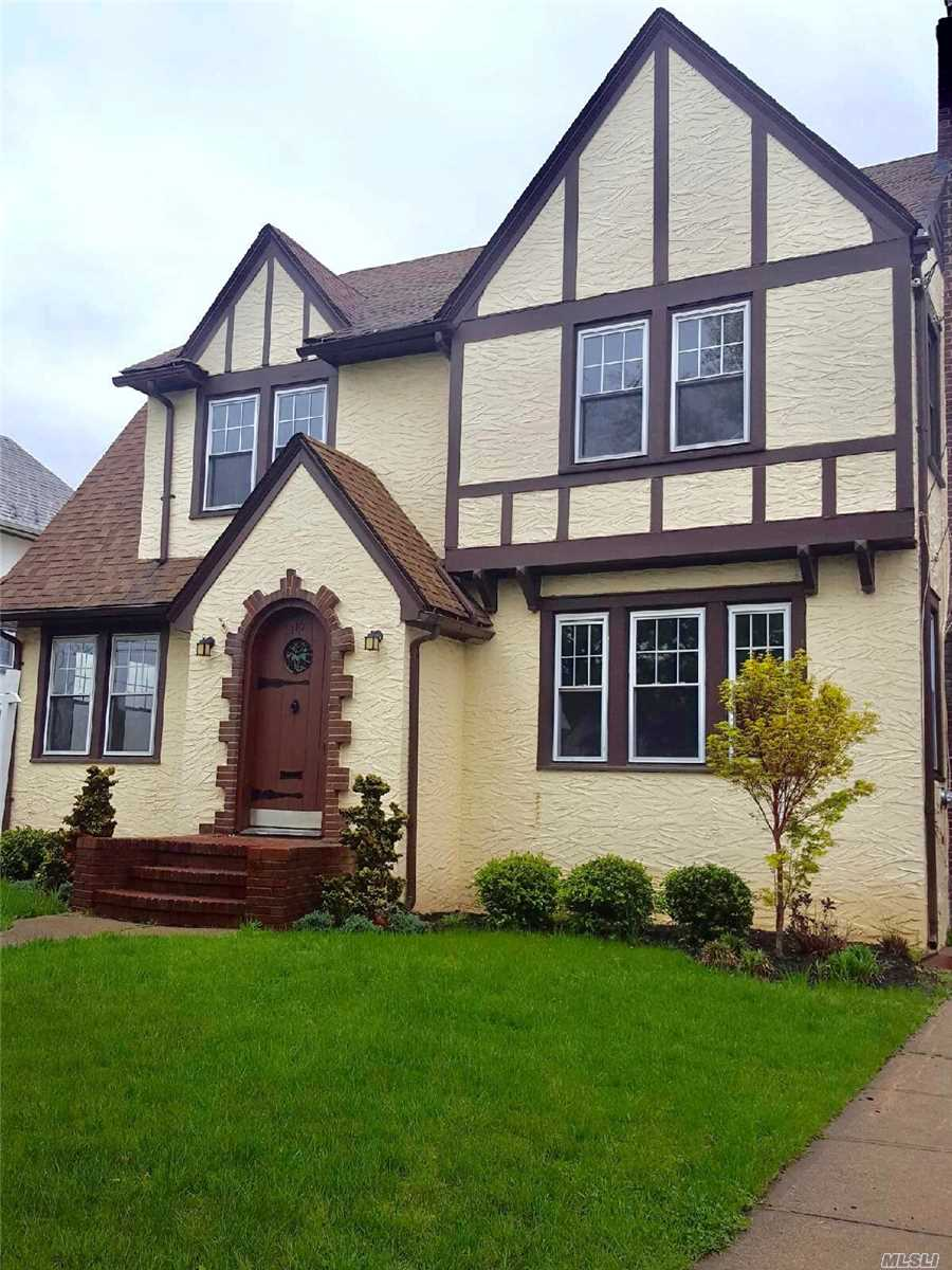 Move Right Into This Recently Renovated Tudor. Large Lrw/Fpl., Fdr, Home Office, New Eik W/Ss Appliances, Bright Renovated Den & Full Bath On Main Level. Large Master W/Wic, 2 Guest Bdrms. And New Hall Bath. New Gas Burner, Hot Water Heater, Electric Panel, And Landscaping. Taxes Recently Grieved.