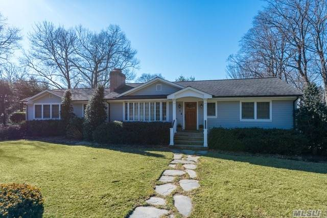 Move Right In To This Tastefully Updated Ranch With Immense Curb Appeal In The Desirable Midland Section Of Cold Spring Harbor! One-Level Living With Bright And Airy Rooms, Picturesque Windows, And Hardwood Floors Throughout. Enjoy The Ease Of Entertaining From Eat-Kitchen To Oversized Family Room With Soaring Ceilings And Glass Sliders To Backyard Deck. Manicured Property Conveniently Located Only 1/2 Mile To Village And 1 Mile To Eagle Dock Beach With Mooring Rights (Fee).