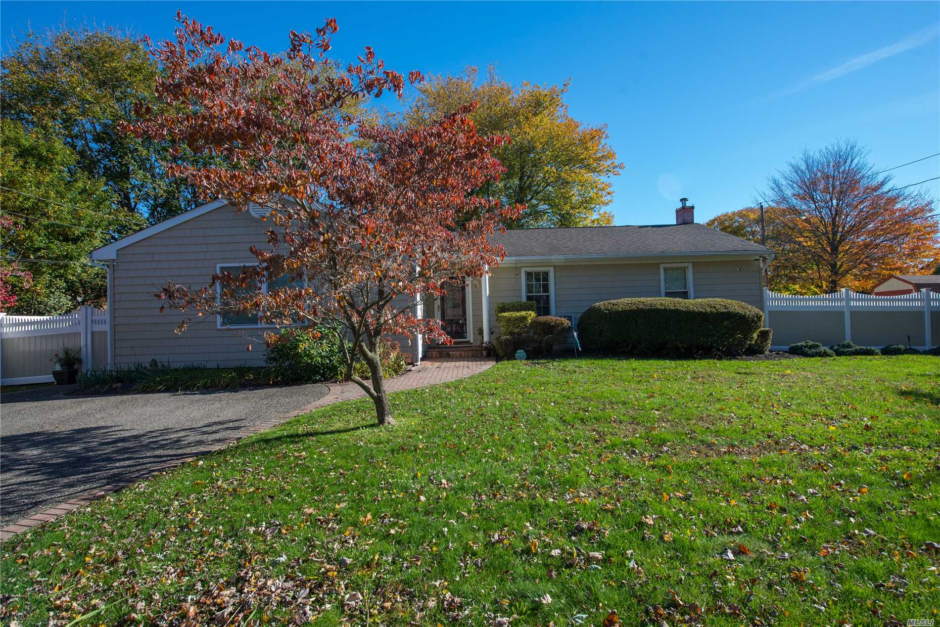 Well Maintained Home With Many Updates. Brazil Cherry Wood Floors Newly Porcelain Tiled Kitchen Floors In Kitchen Dining Area & Living Room. Stove Fridgemicrowave Washer & Dryer About A Year Old. New Luxury Flooring In The Basement Vinyl Fencing Under 2 Years Old Good Size Bedrooms Updated Baths Some Crown Moldings Newer French Door With Built In Blinds Many New Windows Master Suite Has A Huge Walk In Closet With Private Bath With Huge Tub. Too Much To List Come Check It Out!