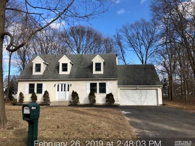Newly Updated On Quiet Cul De Sac. Bright & Airy Foyer Leads To Open Floor Plan Living & Dining Areas. New Paint & Carpet. Living Room Has A Gorgeous Marble Fireplace, High Hat Lighting, & Sliding Glass Doors To New Wood Deck & Large Rear Yard. Plenty Of Bright White Cabinets In Kitchen; In Addition To Brand New Stainless Steel Appliances, & Vinyl Wood Floors. 1st Floor Laundry Space. Master Suite Include En Suite, Walk In Closet & Changing Room. 2nd Floor Nook For Office Or Play Area.