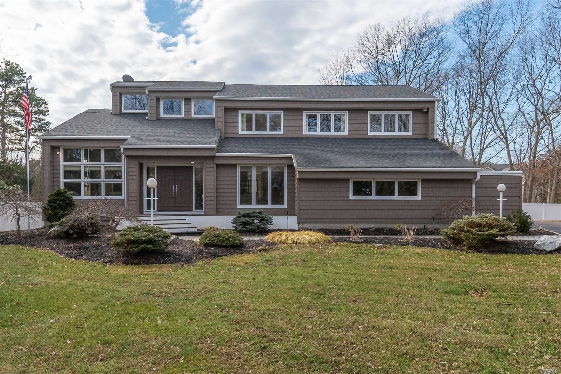 Exquisite Campo Built Home. All Large Rooms, Two Family Rooms, One On Each Level, Wood Floors, Cental Vac, Cac, Dynamic Kitchen Perfect For Entertaining. Backyard Perfect For Summer Get Togethers. All This On A Cul De Sac In Family Neighborhood. Taxes With Star Approx. $15, 120.99