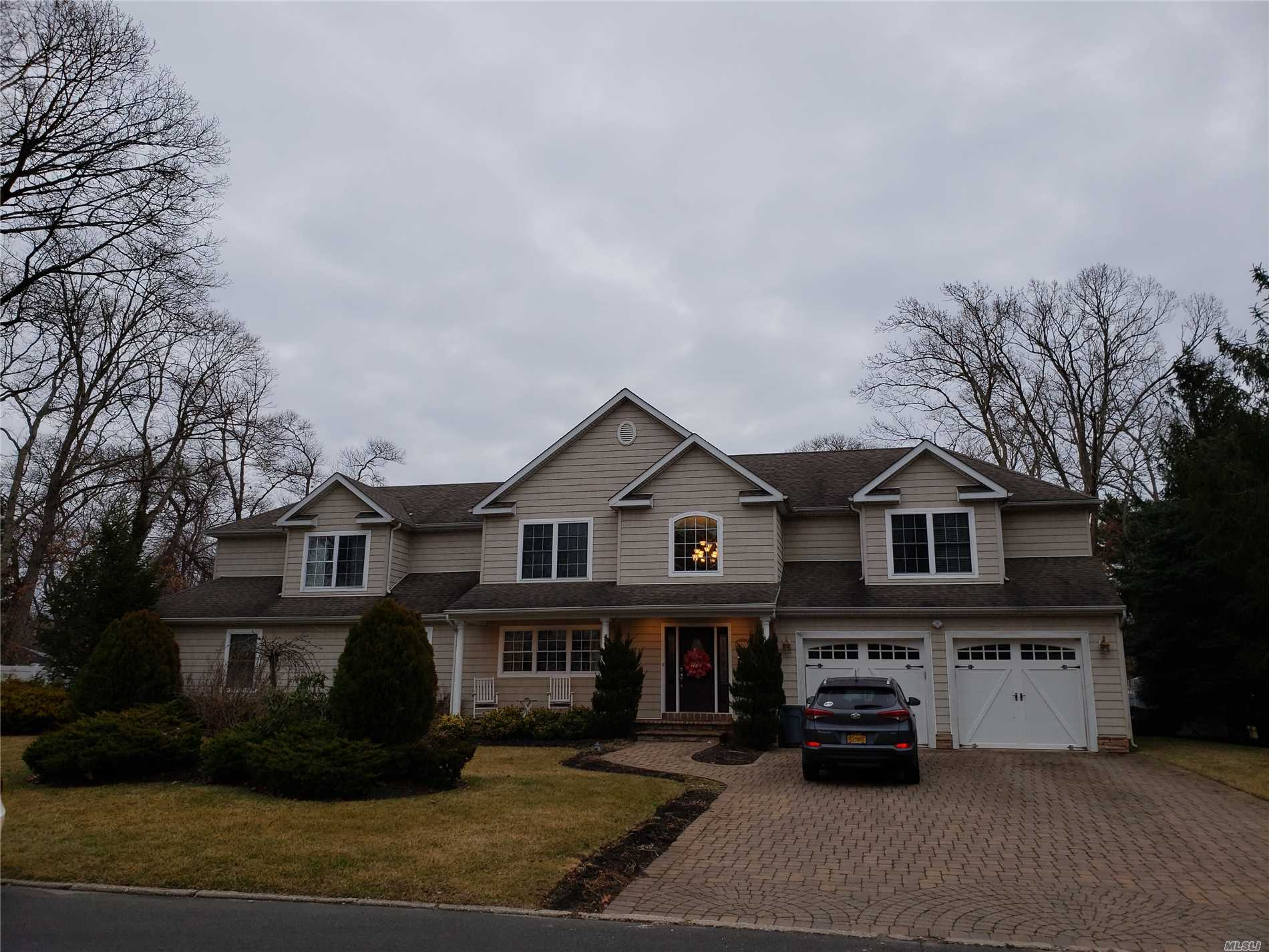 Beautiful Large 5 Bedroom Colonial With 3/4 Acre Lot And Ig Pool On Cul De Sac, Gourmet Kitchen With Stainless Appliances, Greatroom With Stone Fireplace, Separate Suite For Mom(W/ Proper Permits Needed) Too Much To List... Won't Last $750, 000