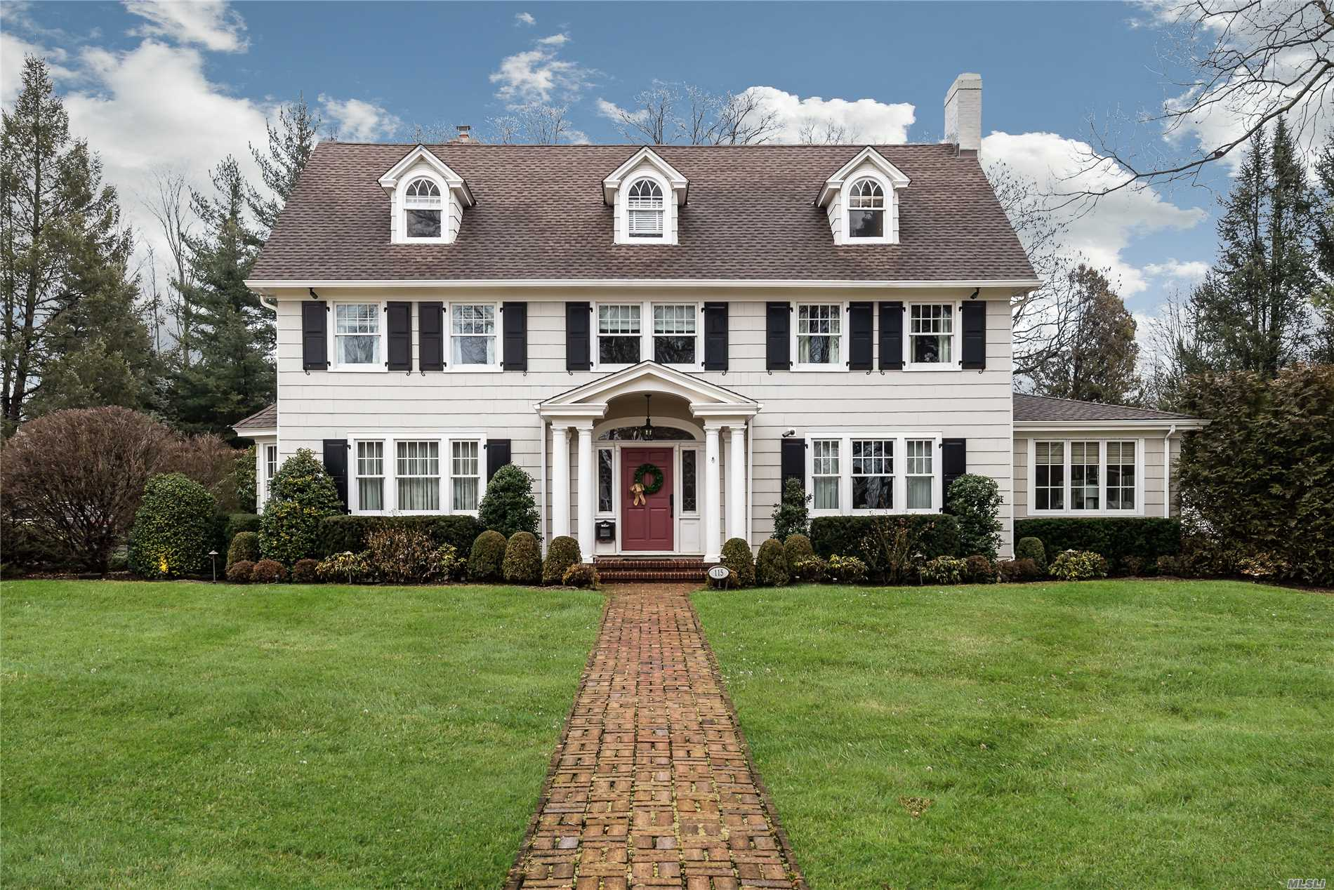 Magnificent Colonial With Every Amenity In Place. Home Has Been Completely Renovated And Includes 7200 Sq.Ft. Of Living Space Including Finished Basement. 1.3 Acres. Stunning Entryway W/Grand Staircase, Leaded Glass Windows; Exquisite Custom Millwork; High End Chef's Kitchen W/Butler's Pantry And Lg. Familyrm/Gas Fp; New Baths, Roof; Property Also Includes Half Sport Court Basketball Court, Guest Cottage With Br, Lr, Updated Kit & Full Bath, And New Heat. State-Of-The-Art Alarm/Security System