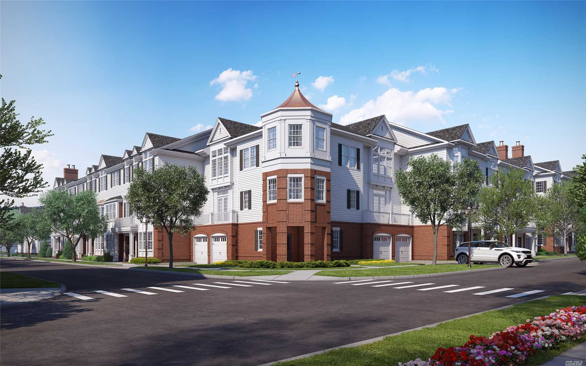 Roslyn. Roslyn Landing Is Limited Collection Of Townhouse Condos Located In The Heart Of Historic Roslyn. This 3 Bedroom, 2.5 Bathroom Townhouse Features A Modern Open Living Area With Access To A Private Balcony, A Spacious Master Suite And Abundant Walk-In Closets. A Truly Unique Opportunity For Luxurious And Maintenance Free Living On Long Island's Gold Coast.