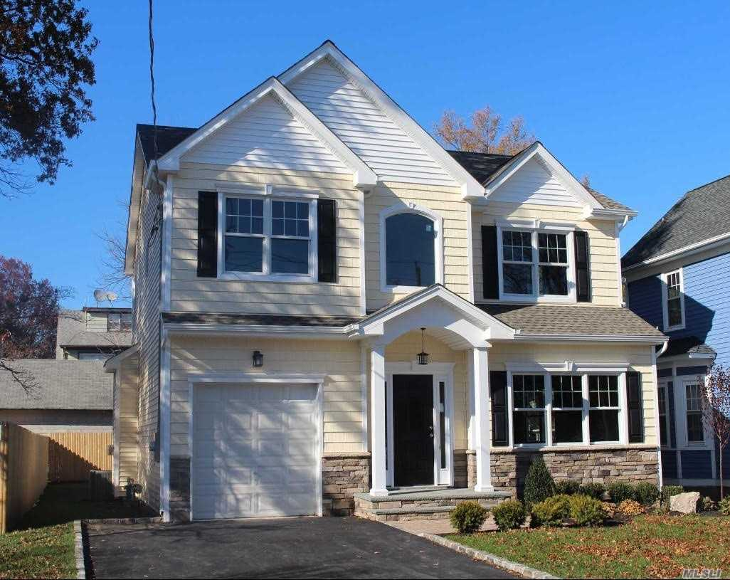 Fabulous New Construction 4 Bedroom 2.5 Bth Colonial In The Heart Of Syosset. *Currently Being Built. Will Be Completed By May 2019. Every Amenity And Quality Throughout. High End Kitchen And Baths, Moldings, Wood Floors 1st And 2nd Floor., Laundry On 2nd Flr. In-Ground Sprinklers 1 Car Garage, Outside Entrance In Basement With 9 Ft Ceilings. 2 Zone Gas Heat And 2 Zone Cac. Pictures Shown Are From Exact Model Which Is Available To See.