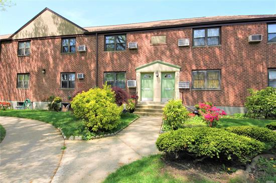 Great Location! Close To Fairway Supermarket, Lie, Douglaston Golf Course, Alley Pond Park. This 2 Bedroom, One Bath Co-Op Apartment Is On The 2nd Floor. The Apartment Is Ready For Someone To Add Their Own Personal Touches. Renovated Bathroom. Kitchen Needs Some Updating.