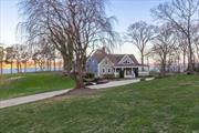 Magnificent Waterfront Estate Is Aligned On The Site To Maximize The Stunning Waterfront Panorama Of Stony Brook Harbor Across Li Sound To Connecticut. Completely Renovated Home On 3.91 Acres Offering Ultimate Privacy And Most Rooms With A View. Incredible Retreat With Gourmet Kitchen, 2 Fireplaces And Sunlit Solarium Offers The Perfect Setting For Comfortable Living.