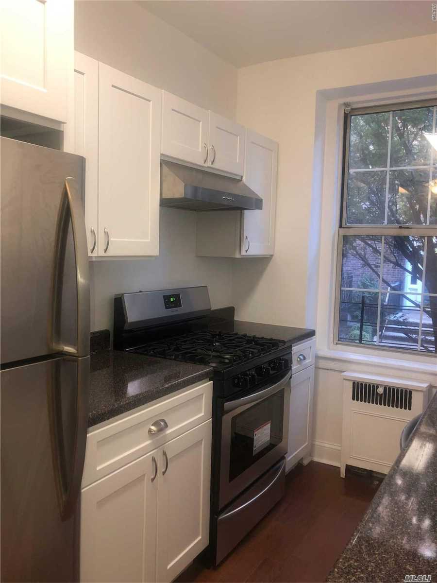 Beautiful Pre-War Large One Bedroom Rental. The Unit Has A Renovated Kitchen, Large Windows, And Ample Closet Space. The Building Has Laundry, A Part-Time Doorman And Great Garden Space. Steps Away From Transportation, Austin Street, Shopping, Restaurants, And More!