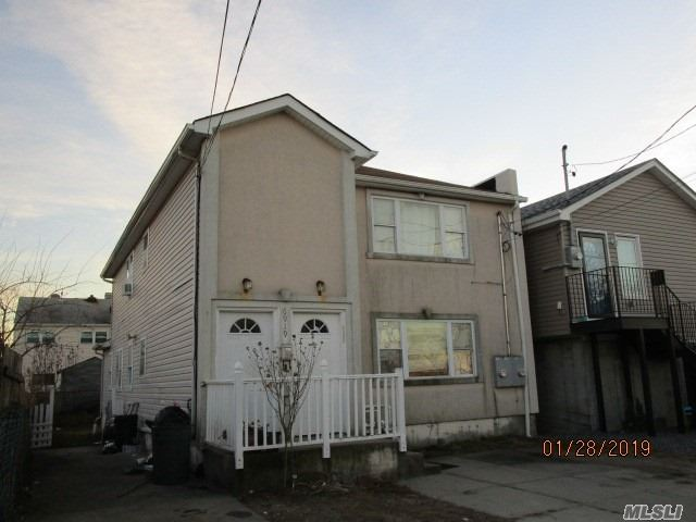 Great Opportunity To Purchase A Two-Family Home With Two 3Br/2Bath Apartments In Far Rockaway. Conveniently Located Within Walking Distance To Shopping, Schools And Train Station. This Property Is Being Offered Fully Occupied. Cash Sale Only Required.