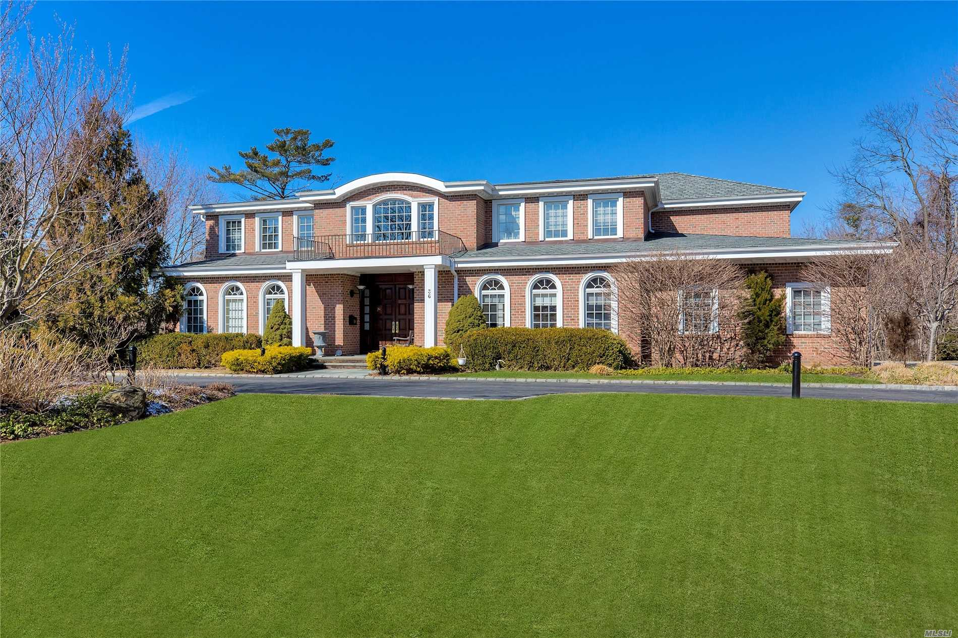 Spectacular Kings Point Colonial On Premier West Side Block- Sun Filled Home With Grand Sized Rooms For Fabulous Entertaining And Family Living. 1st Time On The Market, Built For Owner In 2005 With Finest Of Materials, Elevator,  Soaring Ceilings, Surround Sound System 7 Bedrooms, 6 Baths, Acre, Full Basement & Circular Driveway. Ask For All Home Details
