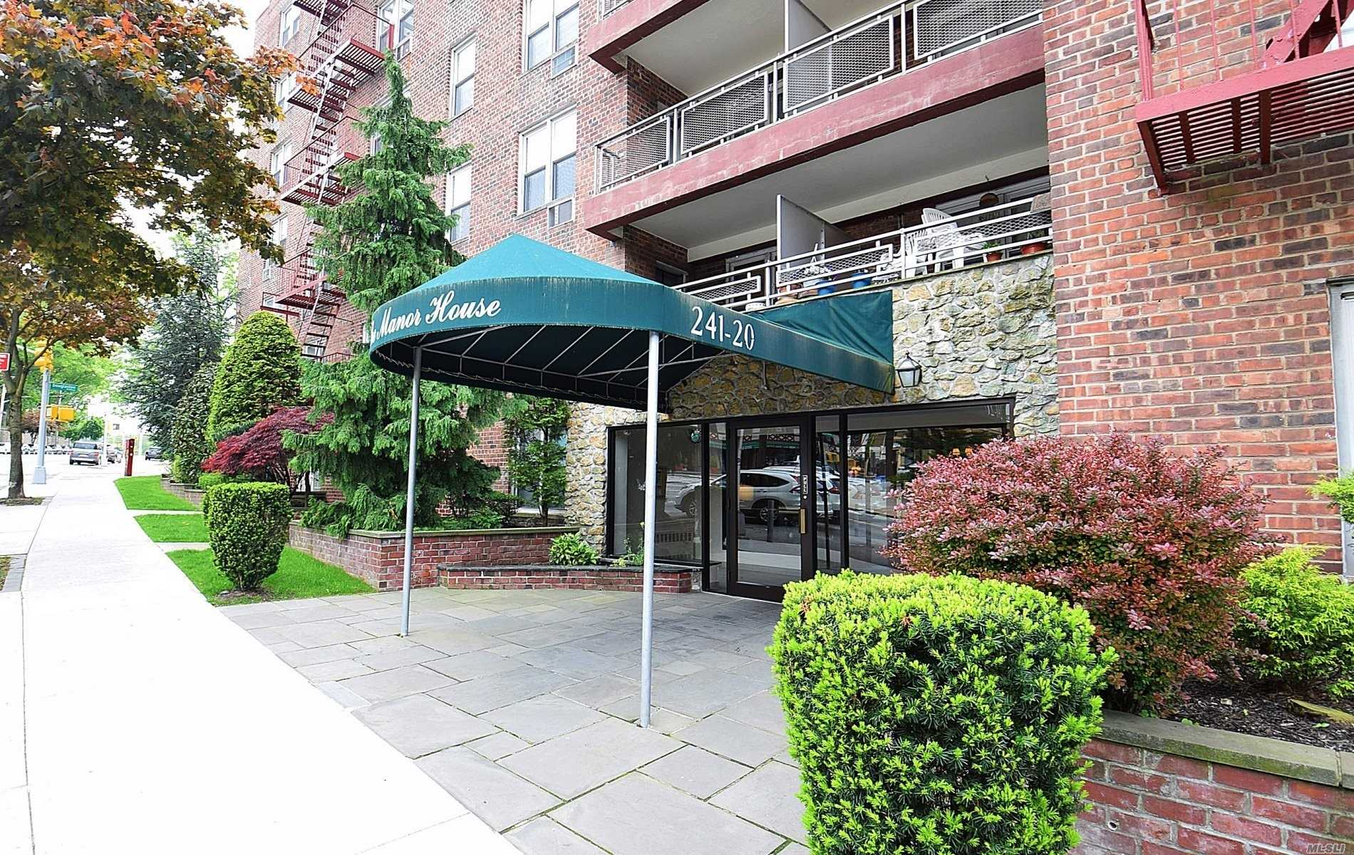 Welcome To The Manor House In Douglaston! This Ultra Spacious Beautifully Renovated And Updated 1Br Apt Is Located Just Down The Block From The Lirr And Is In Ultra Close Proximity To All Other Transportation As Well As All Shopping! There Is A Dishwasher Hook Up And Laundry Rooms Located On The 1st Floor On Both Sides Of The Building! The Lobby Is Newly Renovated! This Apt. Is Priced To Sell Just Waiting For You! Sd #26!