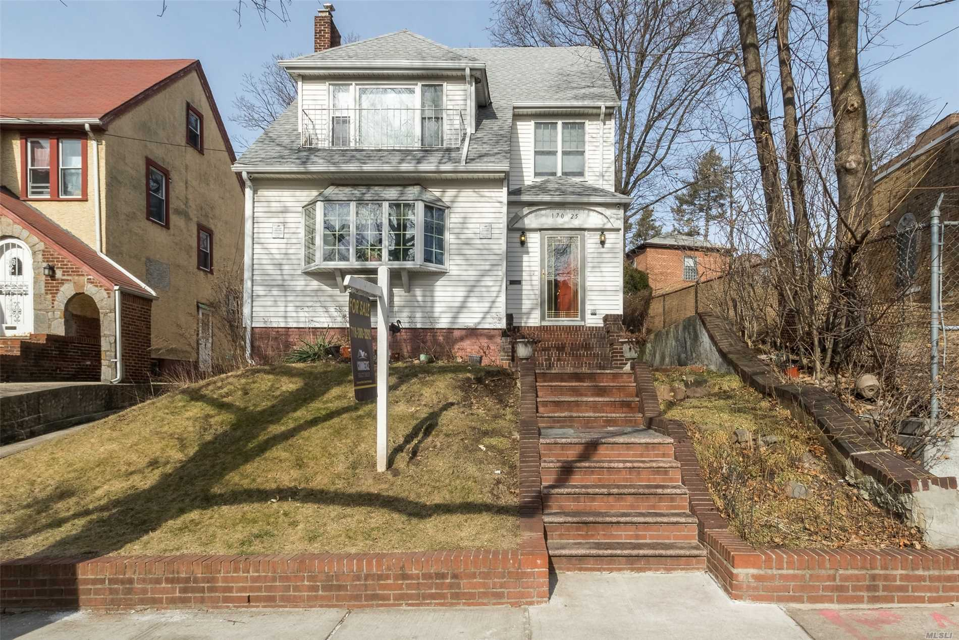 Beautiful House In Jamaica Estates! R5 Zoning 40X120 Lot Size! Perfect For Investors! 3 Stories + Basement! Private Driveway & 3 Car Garage! Owner Ready To Make A Deal! Close To F Train & Sju!