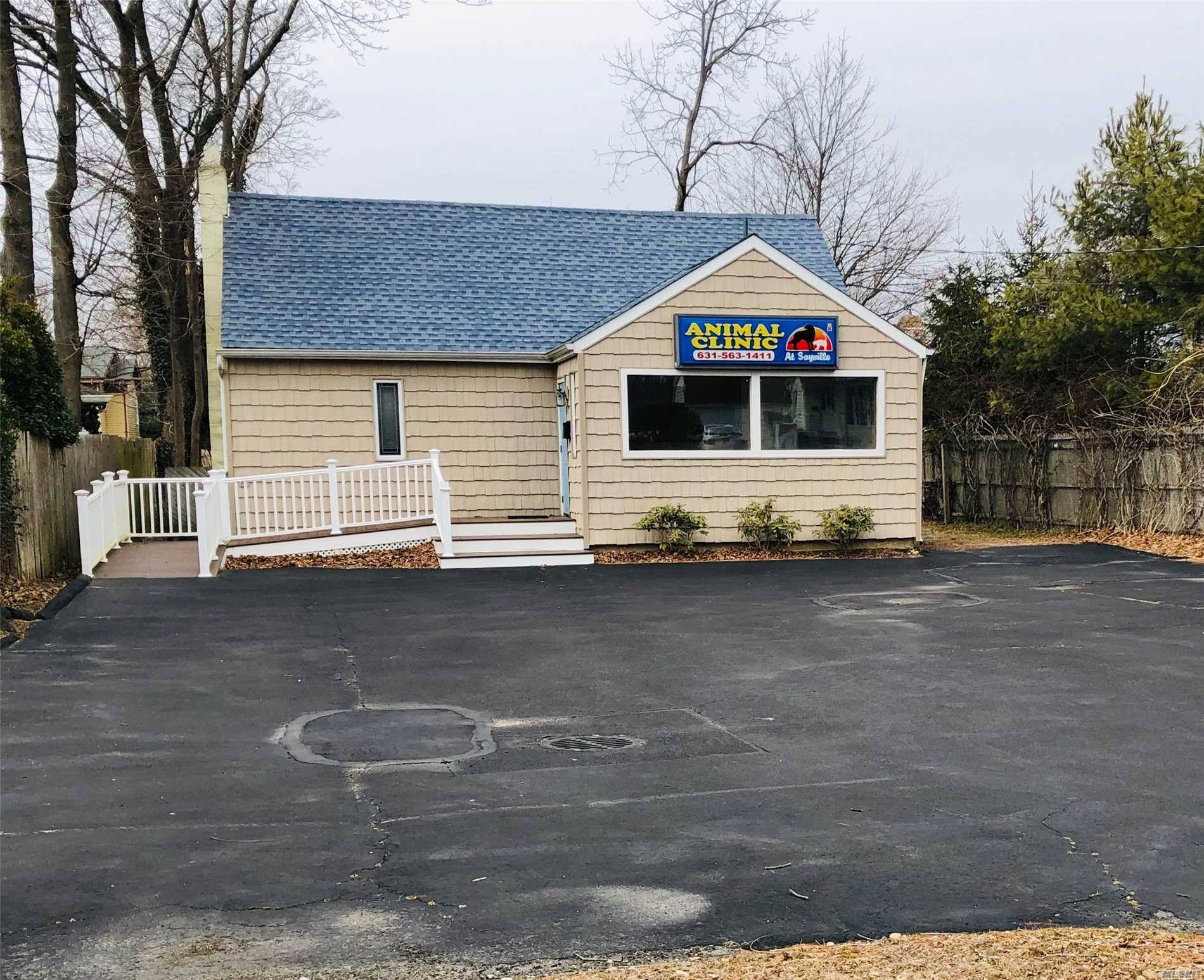 Food Service Possible. Permit Being Obtained. Three Offices, Bathroom, Attic Storage, Newer Roof. Opportunity To Buy See Mls #3100274 . Possible Build To Suit. Possible Owner Financing.