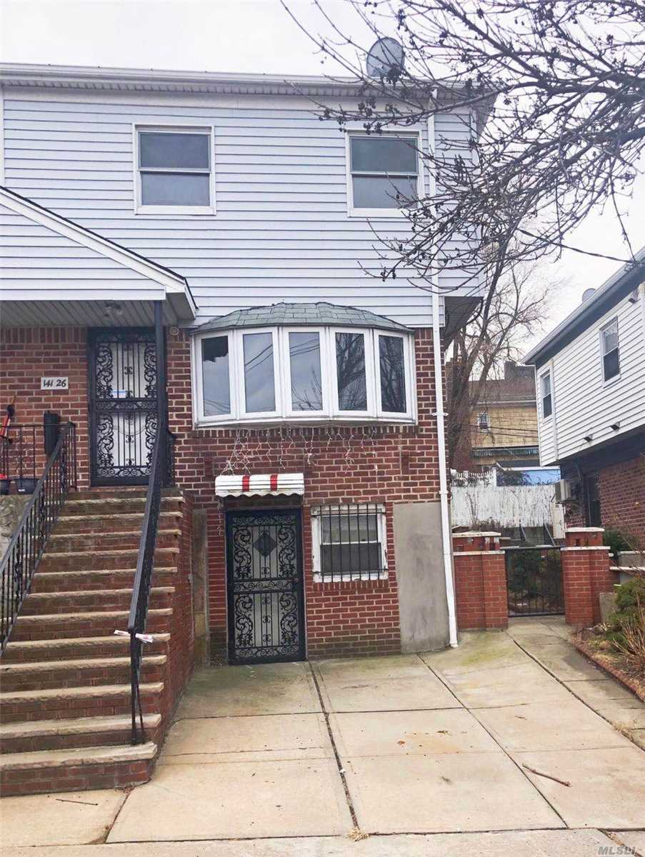 Semi- Detached Single Family In A Very Convenient Part Of Whitestone Bordering, North Flushing, Well Maintained House. Large Backyard And Attic For Storage, Close To Supermarket, Bank, Stores Etc. Transportation, Q20A, Q20B, Q34, Zoned Schools Are Ps 79 And Jhs 185.