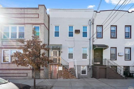 2 Family Home In Ridgewood Approx. 3 Blocks To The M Train. Private Yard With Back Deck And Pool.