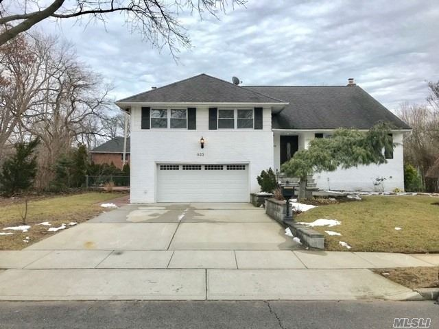 You Will Fall In Love W/This Beautiful&Spacious Home!Updated Eik W/Ss Appl. &Granite Ctrs, Ose To Yard, Lrg Fdr & Lrg Lr W/Wood Flrs, Mbr W/Updated Fbth, 2 Br's, Fbth, Add'l Huge Mbr On 4th Fl, Den W/Fplc, 1/2 Ba&Sldrs To Yard, Door To 2-Car Gar, Full Bsmtw/Fbth, Wrkshp, Lndry Rm, Lovely Paver Patio W/Ig Pool-Great For Entertaining! Secluded Loc. Close To Pkwys&Shopping!Newer Roof, Skylights, Replcmt Windows&Gar Door. Updtd 200 Amp Elec. What Are You Waiting For? View This Home Before It's Sold!