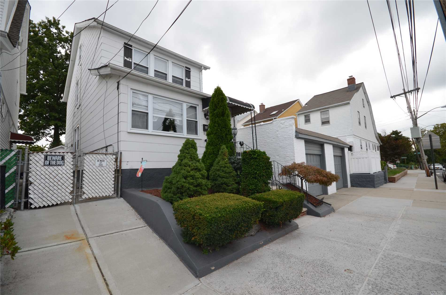 Gorgeous One Family House In Heart Of Flushing.Finished Basement With Separate Entrance. Detached Garage & Private Driveway. Close To Park, Schools, Highway, Supermarket, Shopping, Transportation...Etc.