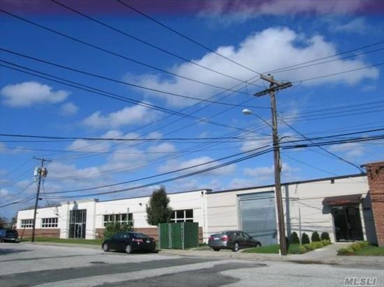 20, 000 sq ft Industrial bldg -- 4 Warehouse Spaces, each with a With Loading Dock. Currently 2 Are Rented Out-1900 and 5600sq ft. ---5000 sq ft space and 7500 sq ft space avail. Loading Docks and Fenced In Area.