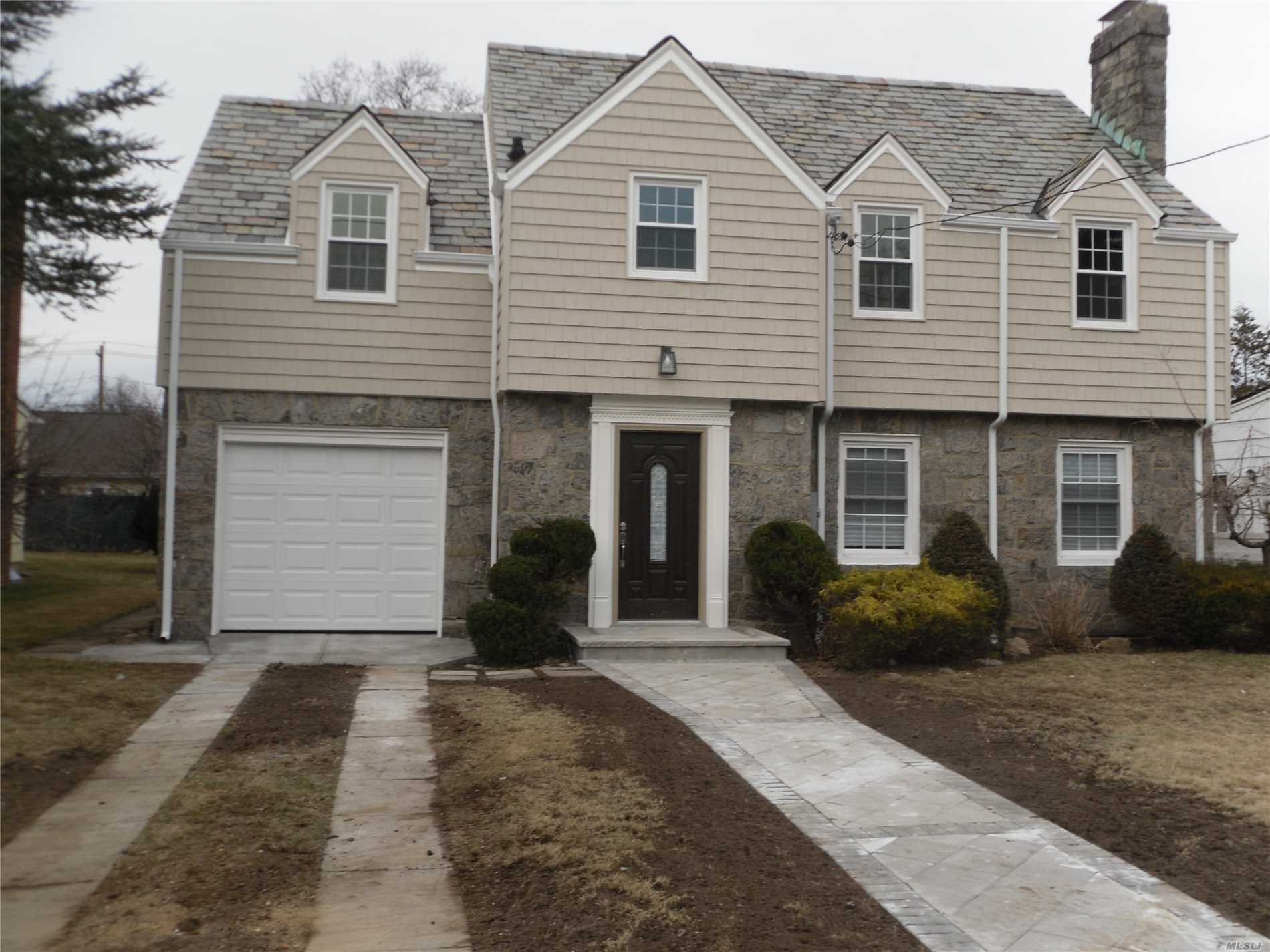 Newly Renovated House, New Kitchen, New Bathrooms, New Heating System, New Central Air Conditioning, 200 Amp Electric, Led Lights Throughout, New Appliances, New Windows And Doors, New Siding, New Gutters, New Brick Patio, New Brick Walkway, Hardwood Floors, And Much More