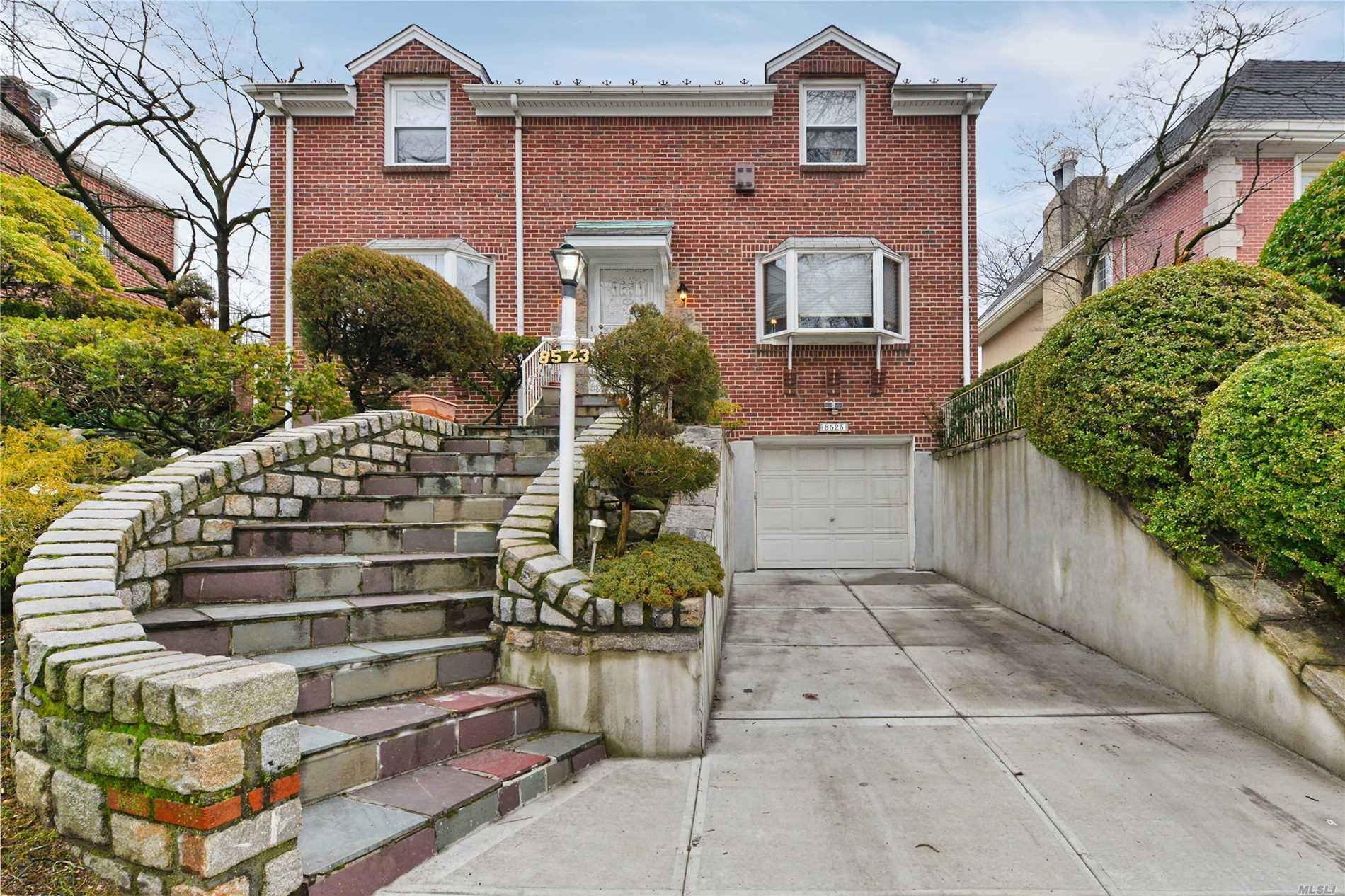 Step Into This All Brick True Center Hall Colonial House Located In The Most Desirable Block In Jamaica Estates. This Home Is In Immaculate Condition And Is Ready To Welcome All! Must Be Seen To Truly Appreciate.
