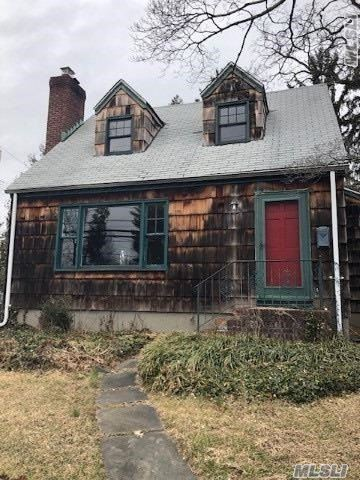Detached Single Family Cape Styled House Located In The Glen Head Section Of Nassau County. Property Features An Attached One Car Garage And Full/Unfinished Basement. House Consists Of Living Room/Dining Room Combination, Kitchen, Three Bedrooms, And One Full Bathroom.