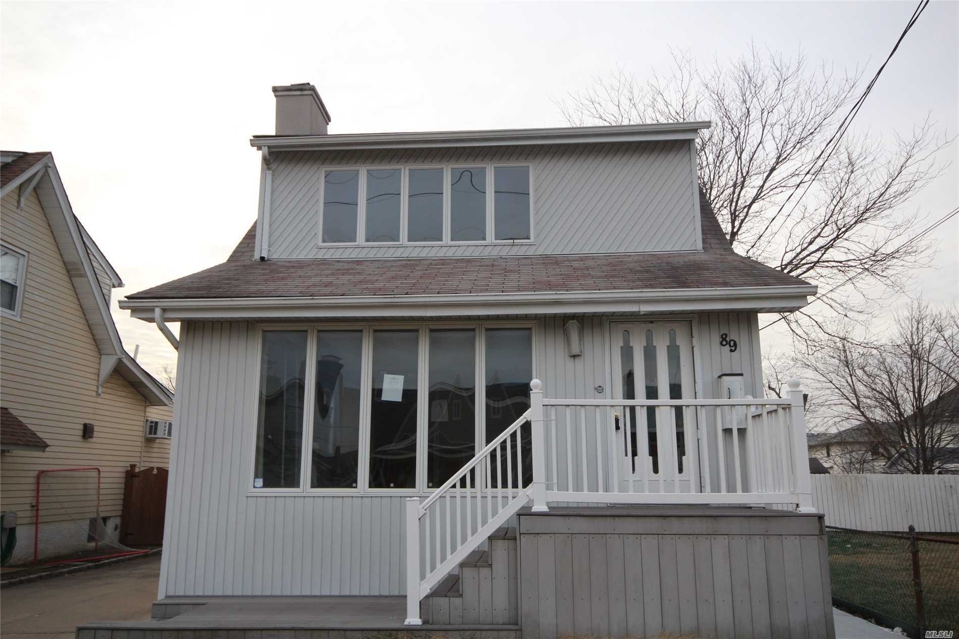 Detached Single Family Colonial With Detached One Car Garage And Full/Unfinished Basement Located In The East Rockaway Section Of Nassau County. Property Features A Spacious Living Room/ Dining Room Combination, An Eat In Kitchen, Three Bedrooms, And Two Full Bathrooms. Truly A Must See!