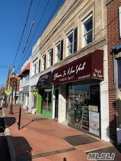 Prime Huntington Location! 2 Store Fronts, 2 Apartments, Full Basement, And Courtyard. Heavy Foot Traffic Area! Fully Occupied With Both Apartments Rented, Florist, And Nail Salon. Please See Attachments For Full Details. Municipal Parking Lot Located Directly Behind Store Fronts.