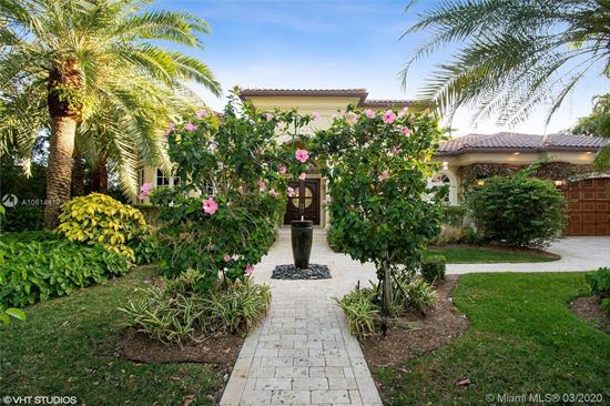 Among The Prettiest Of Homes You'Ll See In Coral Ridge And Rare One-Story. Curb Appeal, Manicured Hedges, Royal And Date Palms... A Quality Home With A Perfect Floor Plan Emanates Palm Beach Elegance And Warmth. Built And Designer Decorated With Attention To Every Detail. 4 Bdrms Plus Office. Built In 2002. Walls Of Impact Glass Invite You To The Beautiful Outdoor Living Area With Wrap-Around Logia, Pool, Wide (120') Canal And Icw Views. Master Suite And Handsome Office To The Left And 3 Guest Bedrooms To The Right. Voluminous 13' And 15' Ceilings, The Very Finest Quality Finishes, Millwork, Crown Molding And Craftsmanship. Saturnia Marble Floors, Propane Gas, Thermador Appliances. Third From The Point And Desirable South Exposure. 100' Dock Accommodates Up To 80' Boat. Well-Priced.