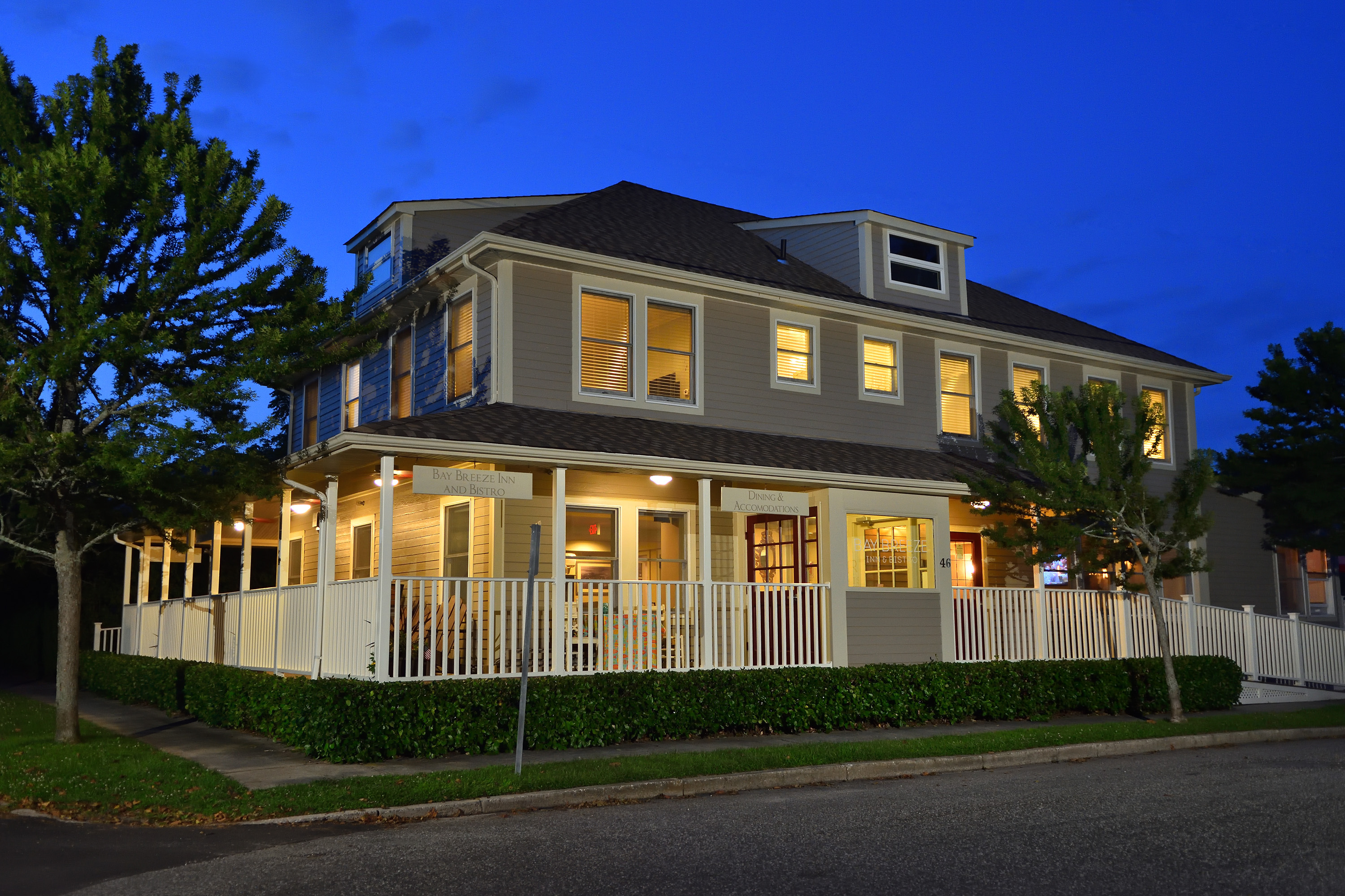 Stunning, Turn Key, Furnished Inn and Restaurant.  Located in a Bucolic Beach Community, this Property Boasts a Large Lobby, 7 En-Suite Guest Bedrooms, 52 Seat Restaurant, Full Bar, Separate 2 Unit Cottage and Ample Parking.  Sit on the Wrap Around Porch and Enjoy the Beautiful View!  Opportunities for a Property Such as this are Endless.