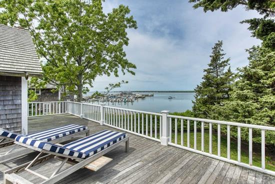 Enjoy Summer In The Crown Jewel Of Orient Village. Restored & Meticulously Maintained With Original Exposed Beams, Wide-Plank Floors, Period Hardware, 3 Updated Wood Burning Fireplaces, Custom Cabinetry & Woodwork. 2 Large Decks Span The Back Of The House Overlooking Orient Harbor & Yacht Club. Available July $22, 000