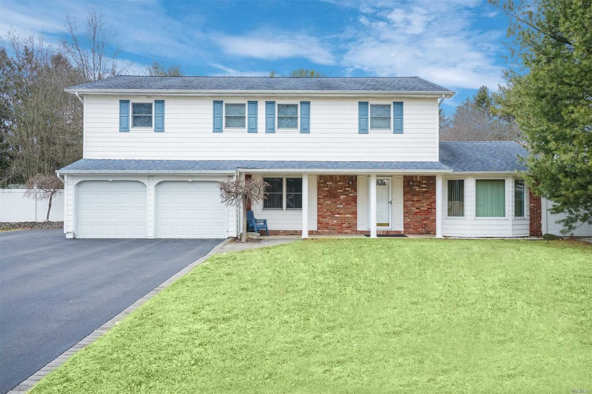 Sought After Coloinal Home On A Desirable Interior Street In The Famed Commack Schools W/ An East Northport Address. This Home Offers Many Possibilities For Today's Buyer. Expanded Driveway To Fit !0 Cars/Updated Anderson Windows/ Roof/ Siding/Cesspool/Heating System. Eat In Kitchen W/ Oak Cabinets Over Looking Shy 1/2 Acre Fenced Yard W/ Sliding Glass Drs. Ceramic Tile/Hardwood Flrs/ Updated Master Bath/Wood Burning Fireplace/Recessed Lighting/ First Floor Laundry. All 5 Br's On Same Flr.