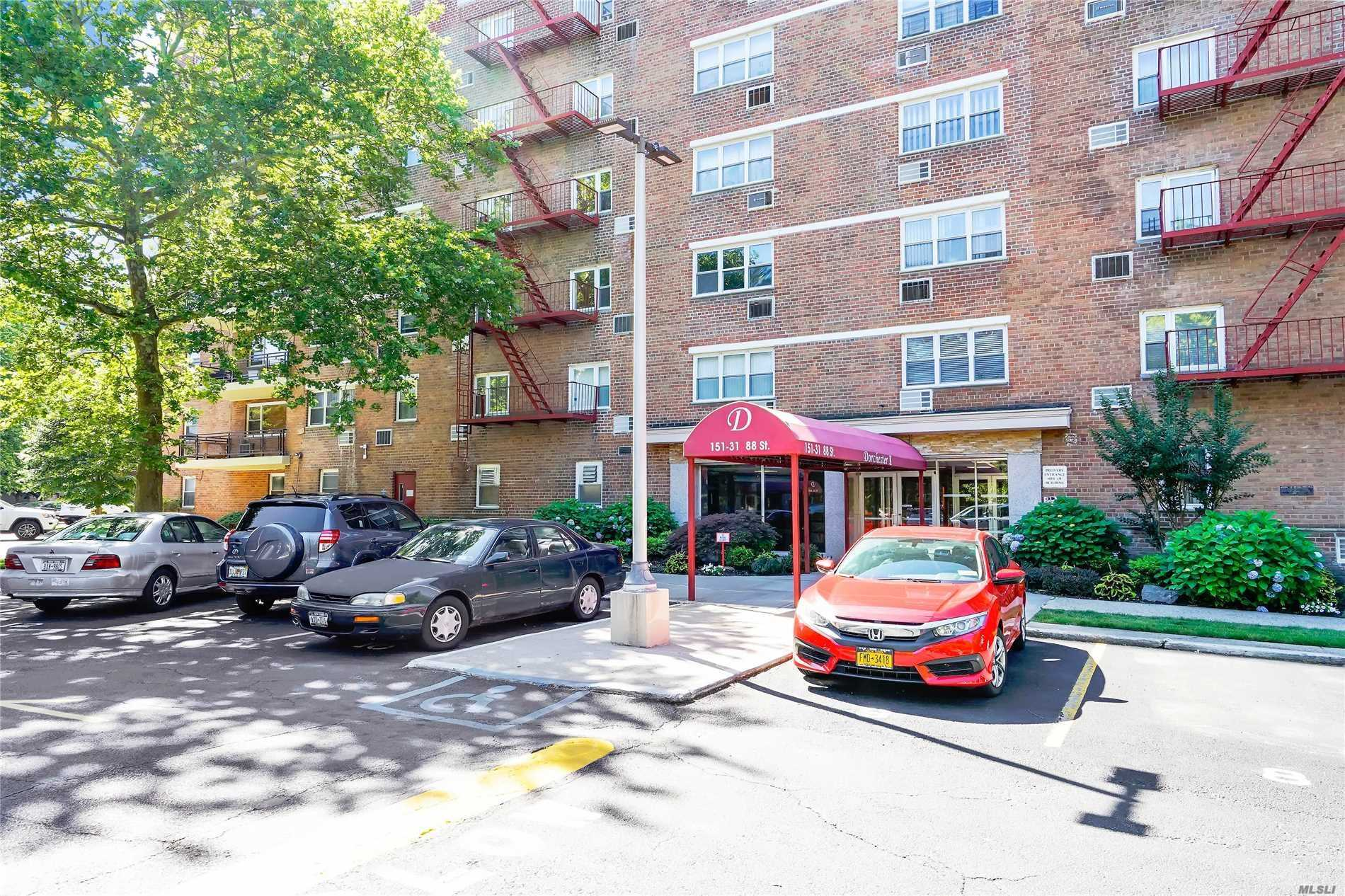 Spacious 1 Bedroom Co-Op In The Dorchester. Nicely Maintained, Renovated, Large Terrace.