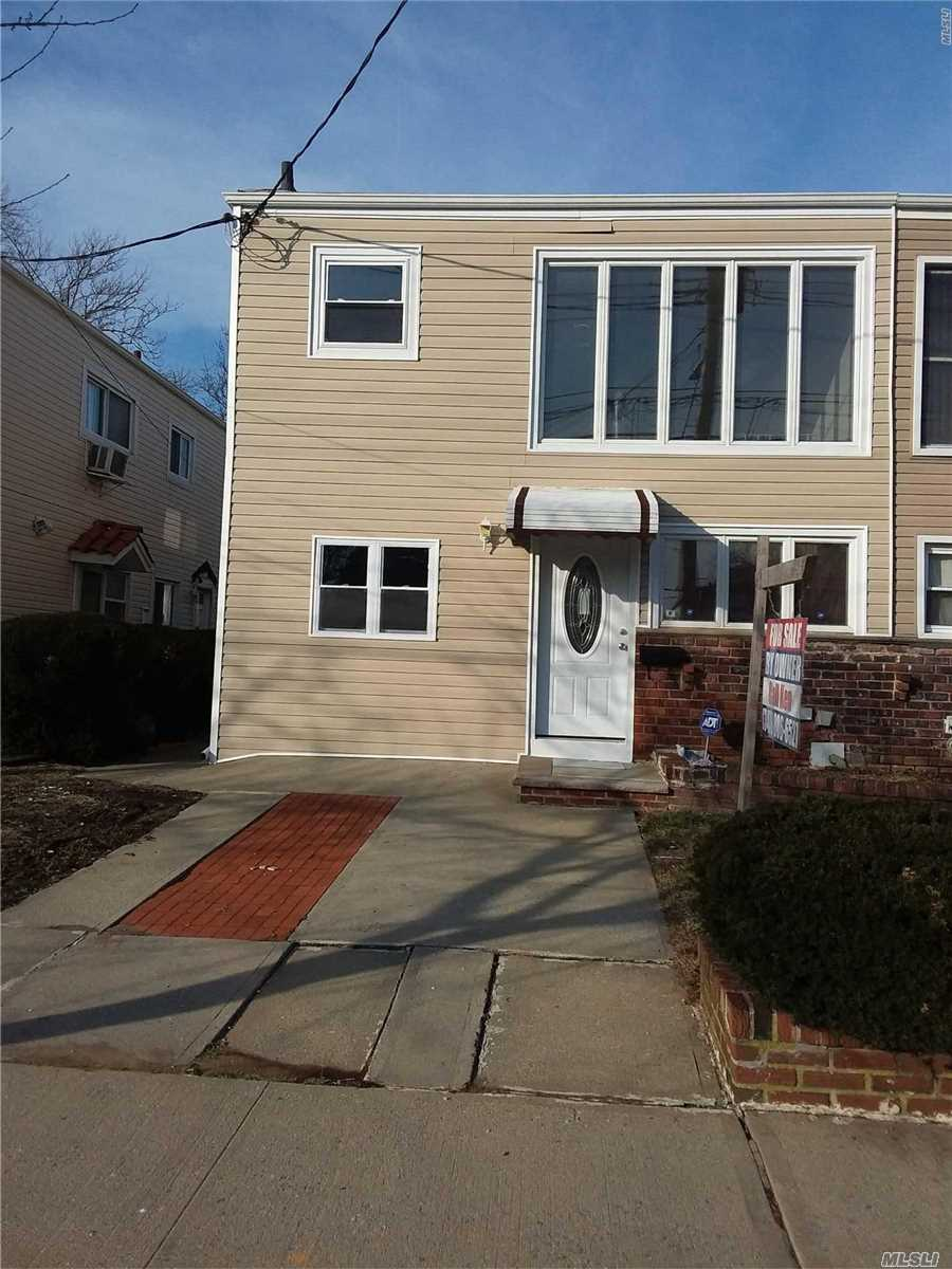 Newly Renovated 2 Family. New Appliances Close To School And Transportation. Nice Clean Neighborhood.