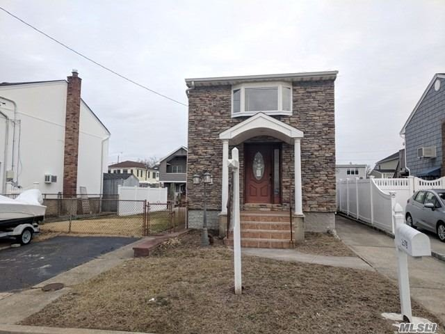 Wow! What An Opportunity To Reside, Waterfront-In Seaford, At A Price You Can't Beat! Work In Progress & Blank Slate Waiting To Be Completed With Your Custom Renovations & Be Your Home Sweet Home!! Just In Time Before The Warmer Months Approach!