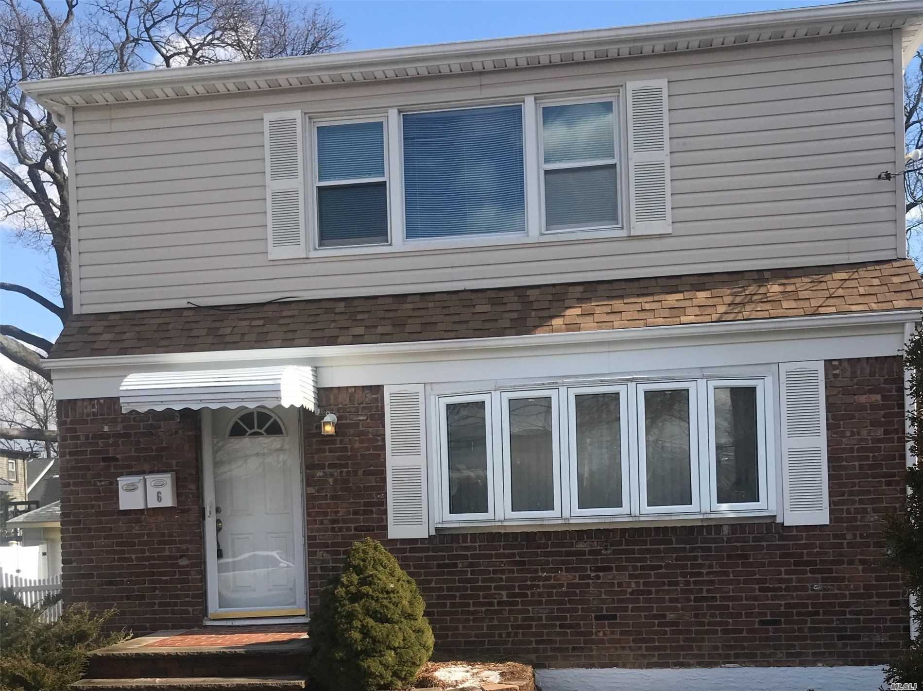 Spacious And Well Maintained 2 Bedroom Apartment Located On Top Floor Of 2 Story Home. Living Room, Dining Room, Eat In Kitchen, Large Master Bedroom With 2 Closets. Parking For 2 Cars. Gas And Electric Not Included. A/C Allowed In Window No Pets.