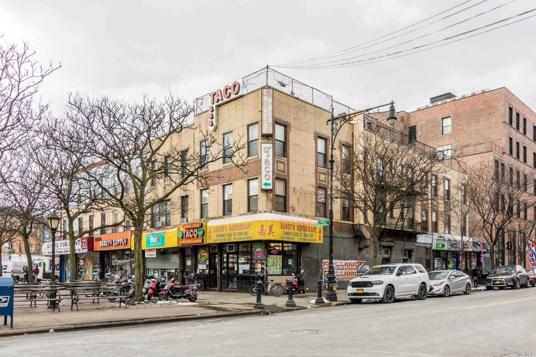 Corner Lot Mix-Used Commercial Located In Prime Location With Heavy Traffic. 4 Retails With 4 Apartments. The Rent Is Way Below Market Value. Huge Potential, Estimate Cap Rate Over 6%. Great For Investors.