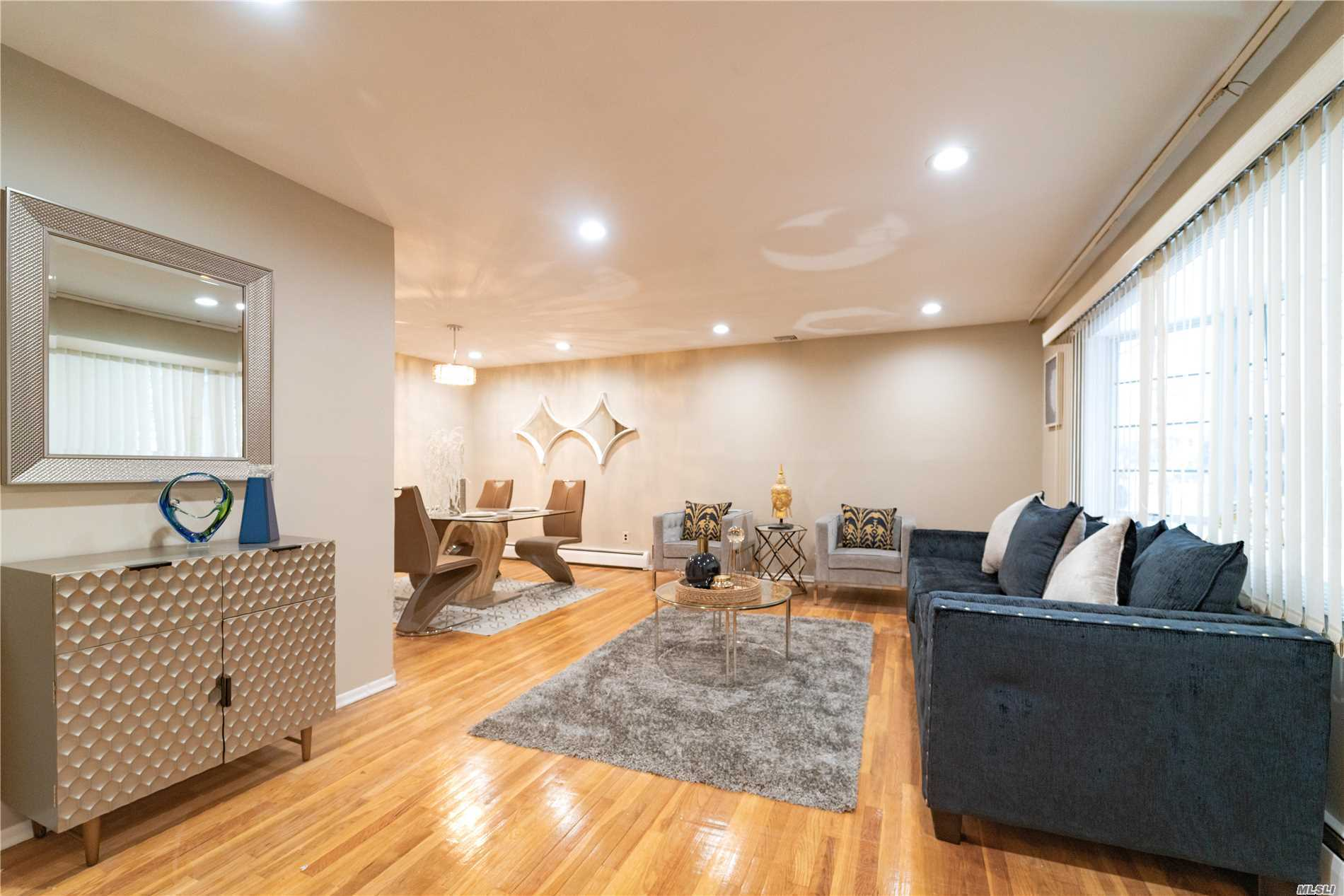 Welcome To This Gorgeous House In Hicksville. This House Has 3 Bedrooms And 2 Bathrooms. Modern Updated Kitchen With Ss Appliances & Granite Counter. Full Basement. Wood Floors. Gas Heating, Central Ac, Nice Breezy Backyard. Great Location Of Hicksville Makes It Close To Lirr, Shopping.