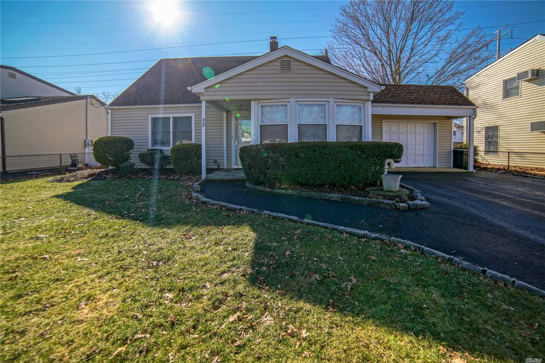 Come Check Out This Beautifully Well Kept Expanded Cape In Levittown. Kitchen Has Been Extended Forward By 9 Feet And Features An Oak Eat In Kitchen. Master Bedroom On First Floor With Half Bath And Separate Bedroom And A Recently Upgraded Bathroom On The First Floor. Hot Water Heater, Expansion Tank And Boiler Are Less Then 1 Year Old!. Spacious 2 Bedrooms Located Upstairs. 1.5 Car Garage W/Breezeway, Belgium Blacktop Driveway. Very Big Backyard With Plenty Of Space For All Your Needs!