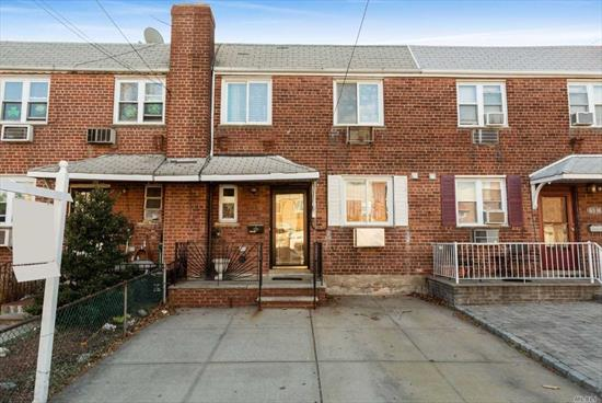 Very Well Kept 2 Family House In Middle Village. First Floor Offers A 2 Bedroom Apartment With Access To Beautiful Back Yard. Hardwood Floors , Great Kitchen , Two Nice Size Bedrooms. Second Floor Is In Very Good Condition Offering Two Bedrooms And Beautiful Deck.Two Private Driveways , Close To Juniper Park. Great School Zoning.