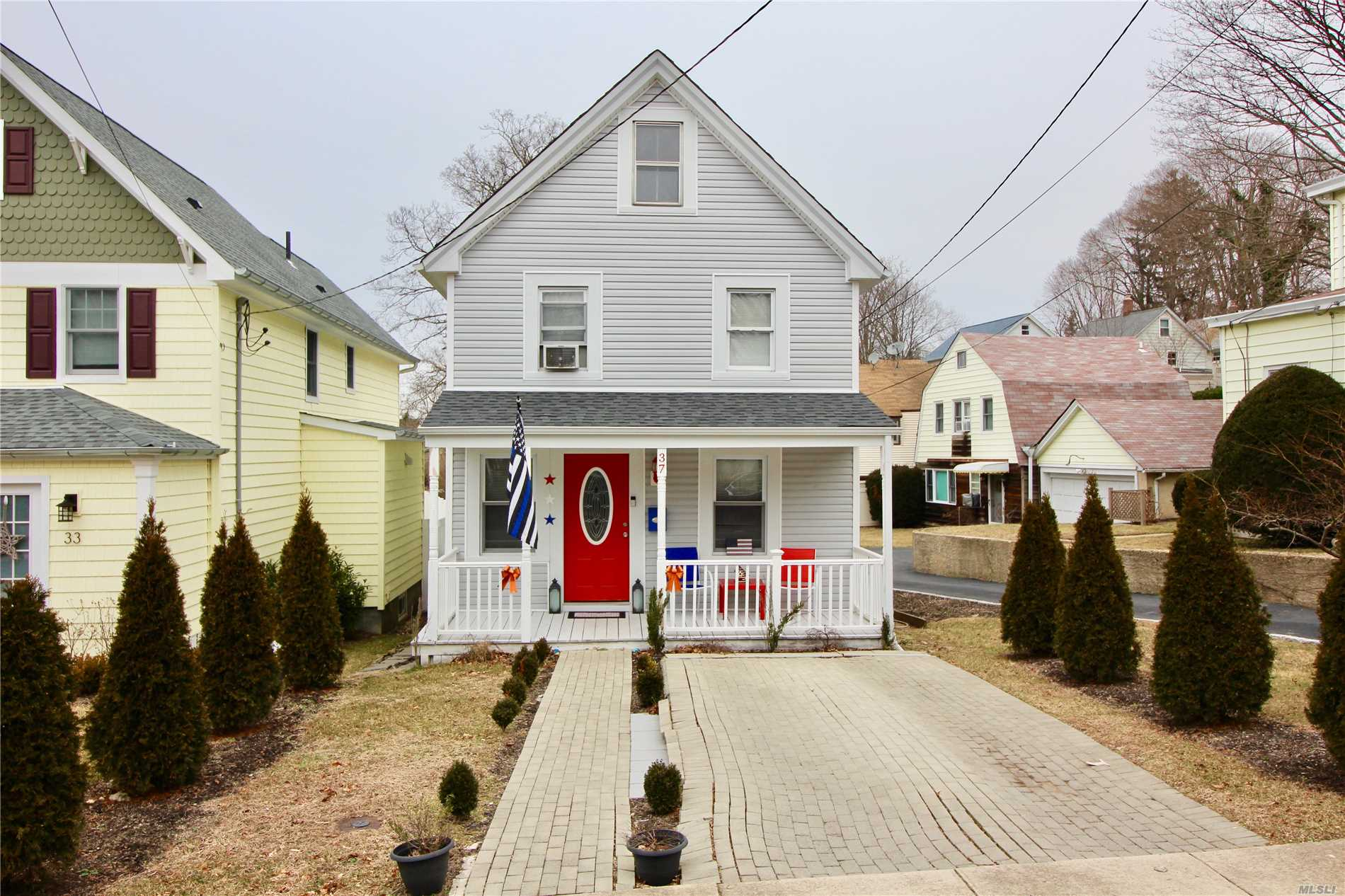 All Updated 3 Bedroom Colonial, Full Finished Basement With Outside Entrance In The Heart Of Oyster Bay. New Roof New Siding, New Heating And Plumbing Throughout House. Pex Plumbing With Baseboard Heat On All Floors. Beautiful Kitchen And Bathrooms Both Less Than 2 Years Old. Walking Distance To Beach, Lirr, Home To Usa's Largest Oyster Festival In October. Low Taxes.