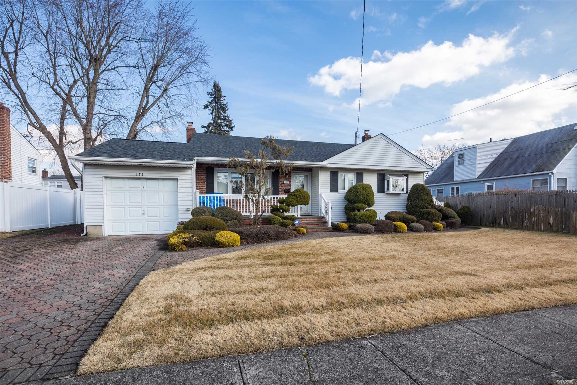 This Is The One You Have Been Waiting For! Mrs. Clean Is Moving Out. This Beautiful Split Boast A Huge Family Room, 3 Bedrooms 1.5 Bath, 6 Year Old Boiler, 4Yr Old Roof, Paved Driveway And Rear Patio, A New Ductless 1st Floor Ac, A New Stainless Stove And Frig, And A Large Den. Way Too Much To List... Come See For Yourself. The Rear Shed Is A Gift.