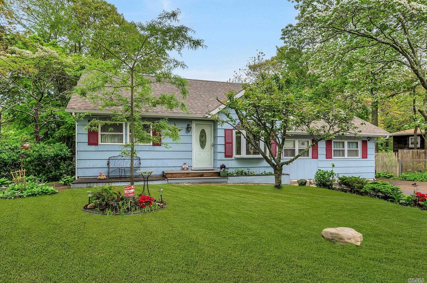 Wide Line Ranch One Block From Long Island Sound Private Beach Club! Newly Updated, House Painted, New Floors, Doors, Roof,  And More!