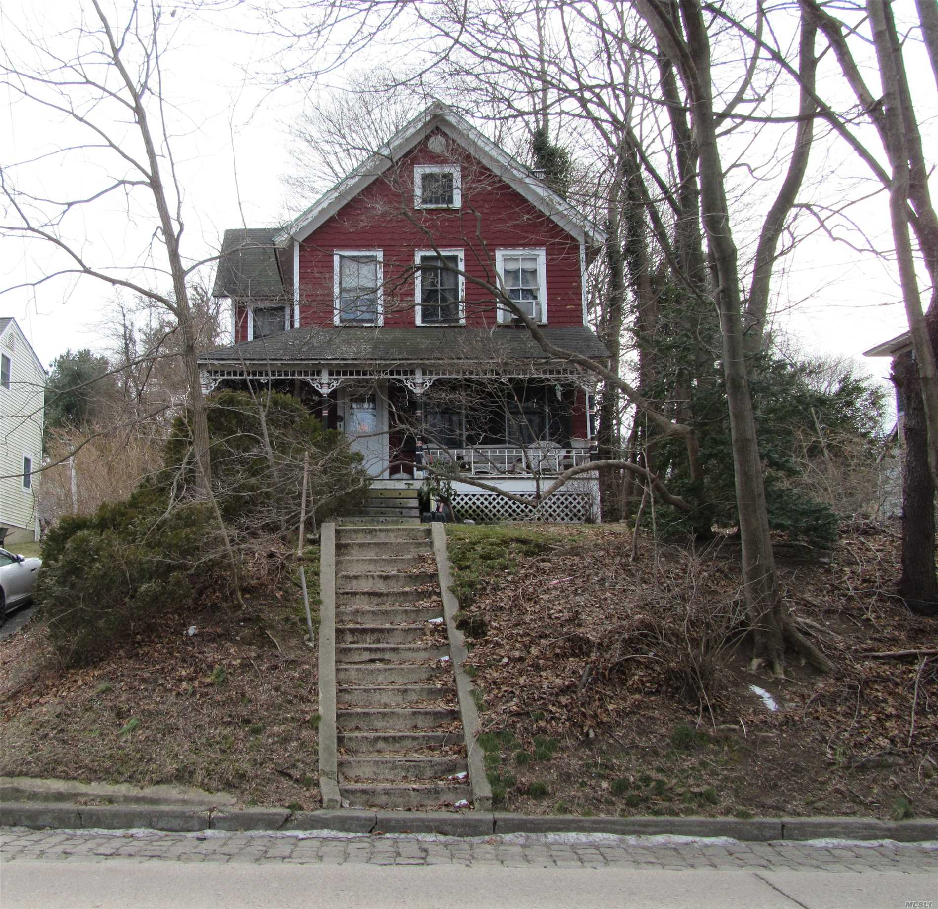 Restore Your Dream Home In Beautiful Northport Village, Nice Lot, Charming Old House, Needs To Be Renovated. Make This Your Own!! Sold As Is, Contents Of Home To Be Removed By Buyer.