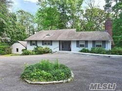 3 Bedroom, 2 Full Bathroom Cottage On 2 Serene Acres In Oyster Bay. The Home Is Filled W/Sunlight. Enter Via Large Foyer. Large Living Rm W/Vaulted Ceiling, Fpl & Access To Patio. Spacious New E.I.K. With Lots Of Room, Granite Counters, Large Pantry & Comfortable Breakfast Area. On Main Level: Full Bath & Laundry Rm. 2-Car Garage, Gas Cooking + Gas Heating, C.A.C. Totally Tranquil Retreat!